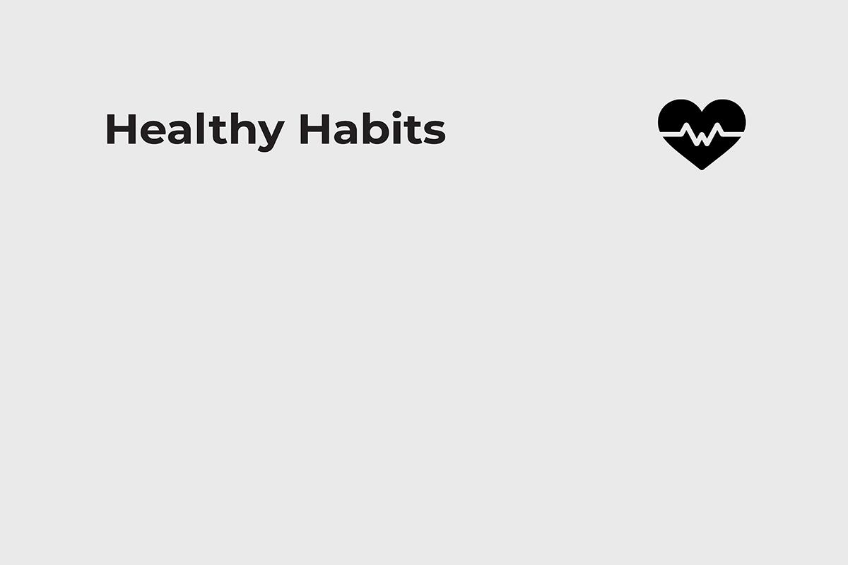 Remote worker canvas healthy habits