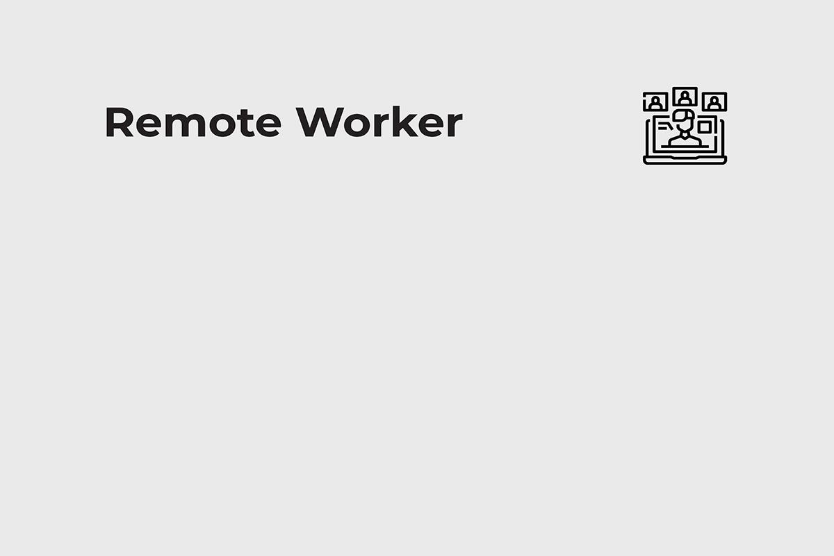 remote worker remote worker